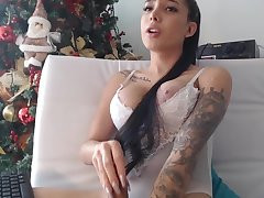 gorgeous webcam model having fun